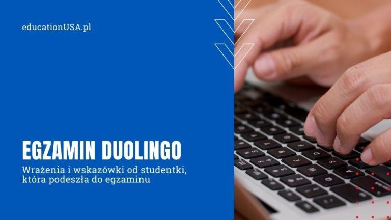 Wskazówki do egzaminu Duolingo